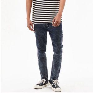 Levi's | Black Acid Wash 510 Super Skinny Jeans